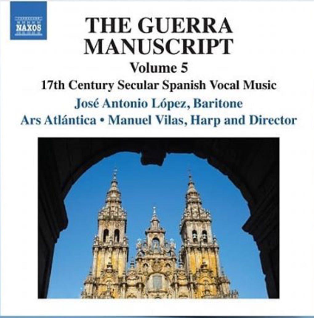 The guerra Manuscript. Disco de Jose antonio Lopez _Barítono